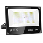 SOLLA 200W Led Flood Light, 16000lm 3000K Warm White Security Light Exterior for