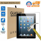 US 9H Premium Tempered Glass Screen Protector Film For iPad Pro 10.5""