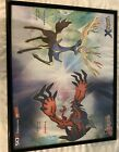 Polemon X And Y Poster With Frame