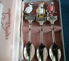 Beautiful collectable Australian Sundowner boxed bird finial spoons set