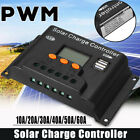 100A PWM Solar Panel Regulator Battery Charger Controller 12/24V With LCD