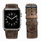 Genuine Leather Strap Band for Apple Watch 38/40/42/44MM iWatch Series 5/4/3/2/1 image