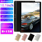 10.1 Inch Tablet 4G-LTE IPS HD 8 128GB Android 8.0 Dual SIM/Phone Call/GPS