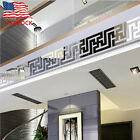 FixedPrice3d mirror wall sticker nordic style wall art decals removable home decor 10pcs