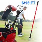 6/15 ft Golf Ball Retriever Extendable/Telescopic Golf Ball Retriever Red+ Black $23.8 USD on eBay