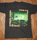 Rare 90s Type O Negative Band Coming Down S-4XL Black Men Cotton T-Shirt YY147 image