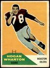 1960 Fleer Football - Cards #1-132 - Set Break - Choose From The List - NFLFootball Cards - 215