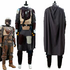 Star Wars The Mandalorian Outfit Costume Cosplay Halloween Uniform Suit $144.69 USD on eBay