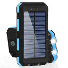 2000000mah Solar Power Bank Flashlight USB Charger Solar Cell Phone Charger
