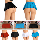 US Women Pleated Mini Skirt School Girl Uniform Cosplay Costumes Party Clubwear