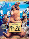 Brother Bear (DVD, 2004, 2-Disc Set, Special Edition) Disney Film WORLD SHIP