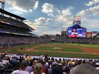 2 Infield Tickets Colorado Rockies vs Chicago Cubs 9/9 on Ebay
