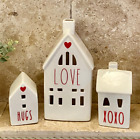 Kyпить Rae Dunn (Inspired) LOVE Valentine's Day House with Red Heart ~ New - With Light на еВаy.соm