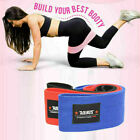 Wide Hip Resistance Bands Loop Circle Exercise Workout Fitness Yoga Booty Leg US image