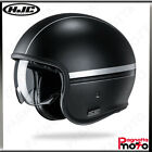 CASCO JET OPEN FACE CUSTOM CON PARASOLE HJC V30 EQUINOX MC5SF