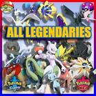 Pokemon Sword and Shield HOME  All Shiny Legendaries  6IV  FAST DELIVERY