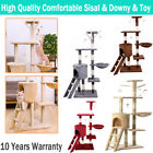 Cat Tree Activity Centre Scratcher Scratching Post House Furniture Toy Bed 140cm