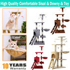 Cat Tree Scratching Post Climbing Activity Centre Soft Sisal Bed Toy Scratcher