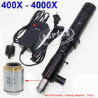 1000X 2000X 4000X Zoom Industry Microscope Camera Coaxial Light C-mount Lens Set
