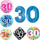 Age 30 - Happy 30th Birthday Balloons {Helium Party Balloons Boy/Girl} EPP
