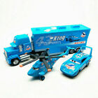 Disney Pixar Cars 43 King Dinoco Helicopter Truck Diecast Model Toy Kids Gift