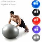 65/75/85cm Pilates Yoga Air Pump Ball Exercise Balance Trainer Sport Workout Top image