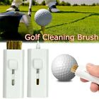 Golf Club Cleaner Brush Cleaning Tools Irons Wood Clubs Brush Grooves White 1 Pc