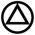 Aa Alcoholics Anonymous Car Decal You Pick The Size & Color