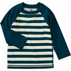 Tea Collection Baby Colorblock Long-Sleeve Rash Guard - Infant Boys'