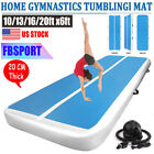2M x 3/4/5/6/8M Air Track Gymnastics Tumbling Mat Home Mat Airtrack Floor w/Pump image