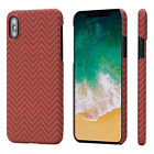 For iPhone X Slim Case Magnetic Cover Body Armor Material Aramid Fiber PITAKA