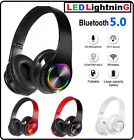 Bluetooth 5.0 Wireless Stereo Gaming Headset Headphone Noise Cancelling With Mic