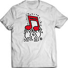 Keith Haring - Music / Talking Heads / Abstract / Pop Art - T Shirt (S-5XL)