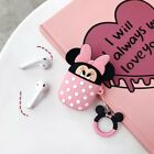 Cute Cartoon Stitch Silicone Airpod Protective Case Cover Skin for Airpods 1 2