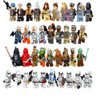 Lego Star Wars Minifigures Blocks Yoda Darth Vader  Luke Skywalker Obi Wan $2.92 USD on eBay