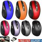 US 2.4GHz Wireless Optical Mouse Mice  USB Receiver For PC Laptop Computer DPI
