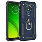 For Motorola Moto G7 Power Supra Shockproof Stand Case Cover HD Screen Protector