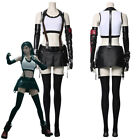 Final Fantasy VII Remakes Tifa Lockhart Cosplay Halloween Uniform Costume