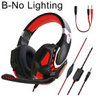 Soyto G10 Over-Ear Stereo Audio Mic 3.5mm Wired Gaming Headset for PC/PS4 DEN