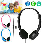Kids Over Wired Ear Headphones Headband Kids Girl Earphones Pink for iPad/Tablet