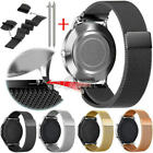 20/22mm Quick Release Watch Band -316L Stainless Steel Mesh Milanese Wrist Strap image