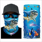 1/5/9PCS Neck Gaiter Face Mask UV Protection Bandana Scarf Mouth Protector Cover