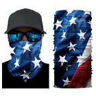 1 5 9pcs Neck Gaiter Face Mask Uv Protection Bandana Scarf Mouth Protector Cover