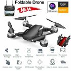 WIFI Drone 1080P Camera Foldable RC Aircraft Quadcopter Selfie FPV GPS Far up Hold
