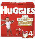 Huggies Little Snugglers Baby Diapers, Size 1 to 6, 198 Ct, One Month Supply