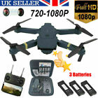 Drone X Pro WIFI FPV 1080P HD Camera 1-3 Batteries Foldable Selfie RC Quadcopter