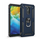 For LG Phoenix 4 / Rebel 3 / Tribute Empire Case Cover With HD Screen Protector