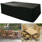 Large Outdoor Furniture Cover For Garden Table Chair Patio Sets Waterproof New