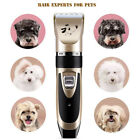 Pet Professional Dog Electric Shaver Grooming Clipper Thick Fur Hair Trimmer Kit