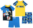 Kyпить Sonic The Hedgehog Boys' 1 More Level 4 Piece Short Sleeve Pajama Set на еВаy.соm